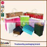 waterproof kraft bubble bag matt laminated mini kraft paper gift bag foil kraft paper bag