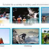 Top Quality Durable 500D Custom Logo Printing PVC Waterproof Ocean Pack Dry Bag With Shoulder Straps for Outdoor Camping