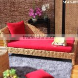 Lounge bedroom sofa set furniture ( Hand woven water hyacinth material & Acacia wood frame )
