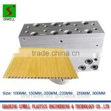 Waterproof flat PVC ceiling panel extrusion mould/die tool/sizing