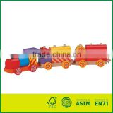 Construction Train Wooden Toy
