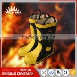 Ce Approved Pc Fire Resistant Chemical Safety Fire Boots