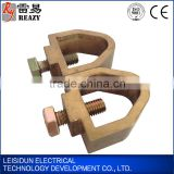 copper clamps for earth rod to earth conductor manufacturer in China