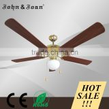 Morden Design Stainless Steel Tropical Ceiling Fan