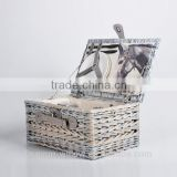 rectangular picnic basket for 2 wholesale
