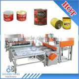 Automatic Tomato Sauce Paste Fish Tuna Canned Food Tin Can Making Line / Duplex Slitter Tin Can Machine,Tinplate Cutting Machine