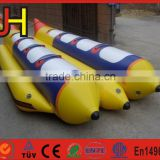 2016 Alibaba Suppliers Excellent Material Double Tubes Inflatable Water Banana Boat For Sale