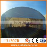 Good trussed frame aircraft hangar tent
