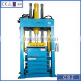 CE ISO certificate hot selling hydraulic balling press clothes machine with outer package (factory price)