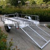 8x5 Hot sale Landscape Utility ATV Trailer/Australia trailer/car trailer/atv trailer/tipping trailer