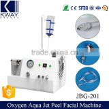 Oxygen Skin Treatment Machine Ce Approval Oxygen Aqua Jet Peel Machine Face Peeling Machine With Water Spray Facial Skin Scrubber System