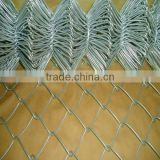 factory sell chain link fence / pvc coated cyclone wire mesh