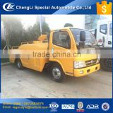 CLW pipe cleaning dredge truck 3000 liters high pressure pipe jetting cleaning dredge truck for sale