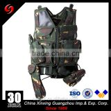 cheap multi-pockets vest light weight camouflage tactical military mesh designed vest for army