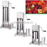 stainless steel sausage stuffer machine commerical chicken sausage making machine