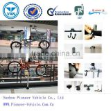 2014 floor-to-ceiling bicycle storage rack/floor-to-ceiling bike stand/bike racks/bicycle holder(TUV,ISO,SGS approved)
