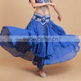 STELISY 2015 Ladies arabic belly dance skirt sexy adult dance long skirt