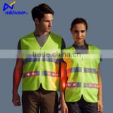 waterproof green traffic safety vest match hi vis working outdoors safety