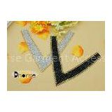 Rhinestone Neckline Applique For Clothing