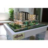 Architectural model for real estate with led light