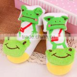 Autumn And Winter New Fashion Infant Socks Cotton And Polyester Baby Socks With Bell Toddle Wear Wholesale