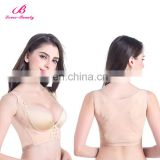 Factory Price Nude Big Wide Straps Women Breast Bra Body Shaper Underwear