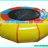 NEW!!HI CE approve hot summer hot game inflatable bungee trampoline,large trampolines for sale