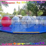Germany Tizip Zipper water Ball Inflatable bubble for swimming pool