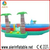 Residential baby playing inflatable bouncy house for toddlers