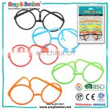 Wholesale plastic safe and soft folding glasses frames without lense