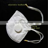 Folded Disposable Dust Mask With Valve