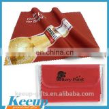 Branding Logo Fireproof Fiber Microfiber Glass Cleaning Cloth with Custom Package