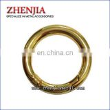 Quality popular metal snap O rings for handbags