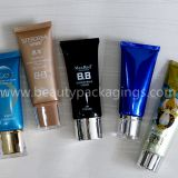 Aluminum Plastic Hand Sunscreen Cream Cosmetic Tube