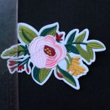 Newly embroidery applique, colorful patch for clothes