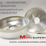 4000# Ceramic bonded diamond high efficiency ultra-hard grinding wheel  Alisa@moresuperhard.com