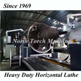 Heavy Duty Horizontal Lathe Machine for turning wind power shaft