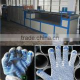 Dotting &Printing Machine for Gloves|glove pvc dotting machine|Gloves further processing machine