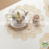 Chinese traditional table cloth for hotel white cotton tablecloth white round tablecloth hotel tablecloth