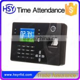 Office equiment employee attendance management card and fingerprint biometric time attendance system