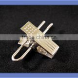 durable and high quality wire shirt clip for wooden hanger