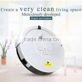 2015 New Products Home Appliance Robot Vacuum Cleaner with Mop Cleaning and Auto-Recharging