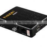 hd small box digital satellite receiver tiger z280 plus H.264 iptv streaming server support wifi