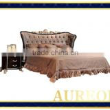 AK-7053 Trendy New Product 2015 Modern Wooden Bed Models