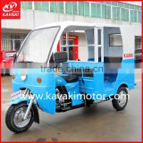 Travel Tourist Good Choice 3 Wheeler Double Long Seats Passenger Transport Tri Cycle Taxi Tuk Tuk