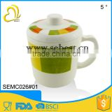 most popular custom melamine plastic cup with lid