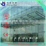 China new building safety laminated bulletproof glass price