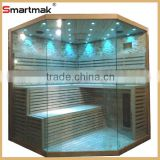 2015 new design wholesale price luxurious wooden finland steam sauna room traditional sauna room