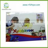 Educational colorful painting toy for kids diy digital painting
