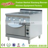 Restaurant Cooking Equipment Combination Electric Hot Plate Cooker With Oven BN900-E810B